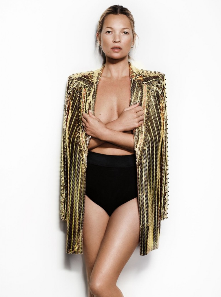 Photo KATE MOSS IN FEATHERS WILL FLY BY MARIO TESTINO FOR VOGUE UK MAY 2013