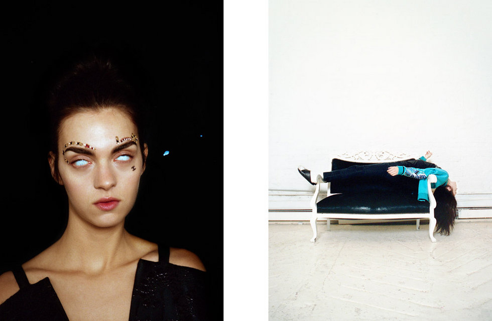 Photo MAGDA LAGUINGE FOR OYSTER MAGAZINE THE PEACE ISSUE