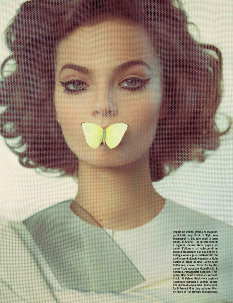 Photo MOA ABERG FOR VOGUE ITALIA MARCH 2013