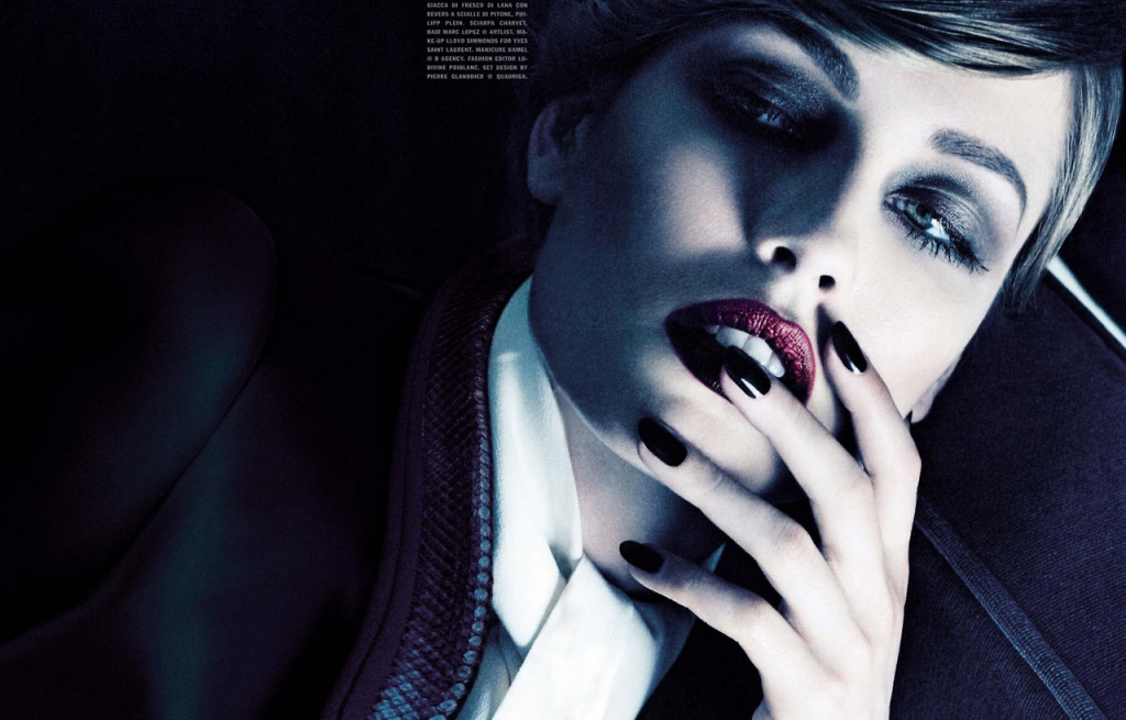 Photo NADJA BENDER BY TOM MUNRO FOR VOGUE ITALIA APRIL 2013