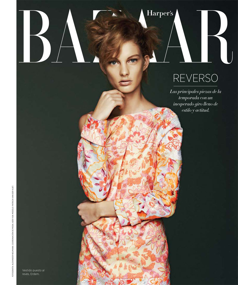Photo PATRICIA VAN DER VLIET FOR HARPERS BAZAAR LATIN AMERICA APRIL 2013