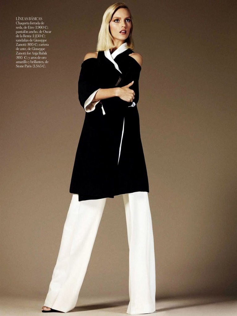 Photo ANJA RUBIK BY GIAMPAOLO SGURA FOR VOGUE SPAIN JUNE 2013