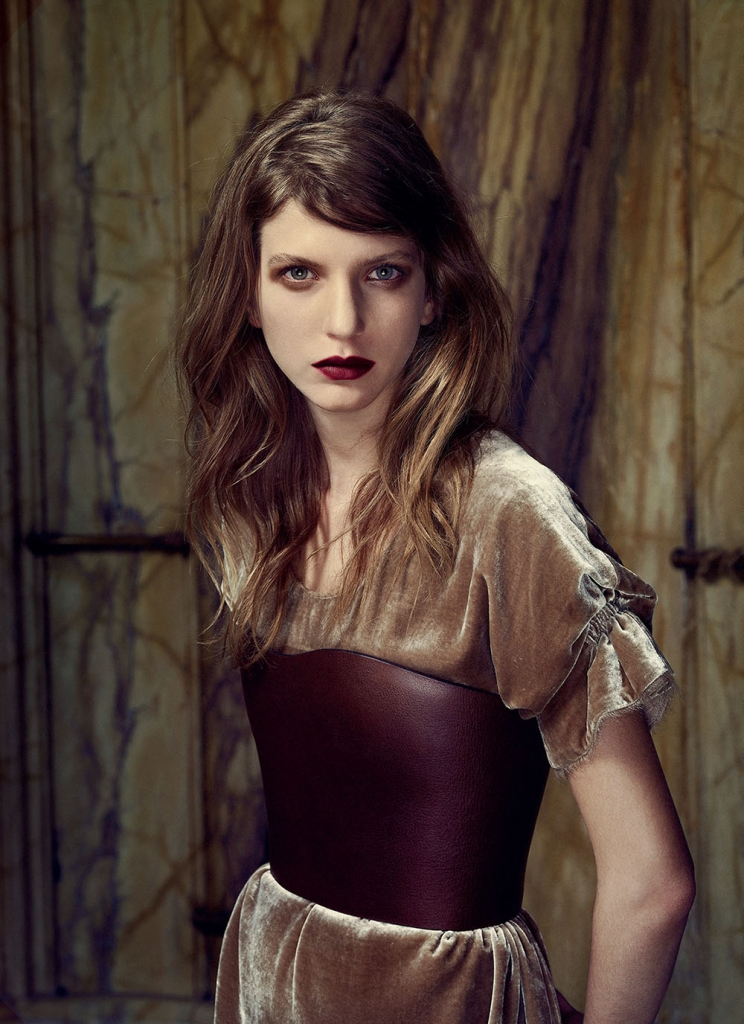 Photo CATERINA RAVAGLIA AND ADRIEN SAHORES BY ERWIN OLAF FOR GREY MAGAZINE NO.8 S/S 2013