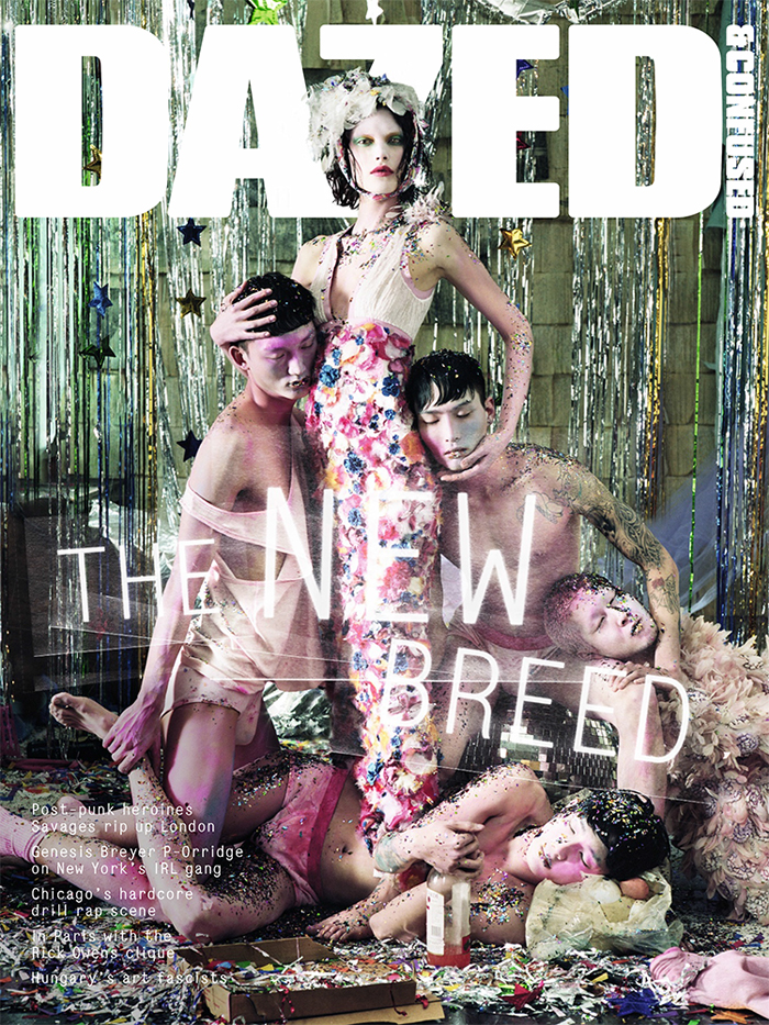 Photo CATHERINE MCNEIL FOR DAZED & CONFUSED MAY 2013 COVER BY JEFF BARK