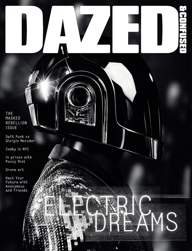 Photo DAFT PUNK BY HEDI SLIMANE FOR DAZED & CONFUSEDS JUNE 2013 COVER