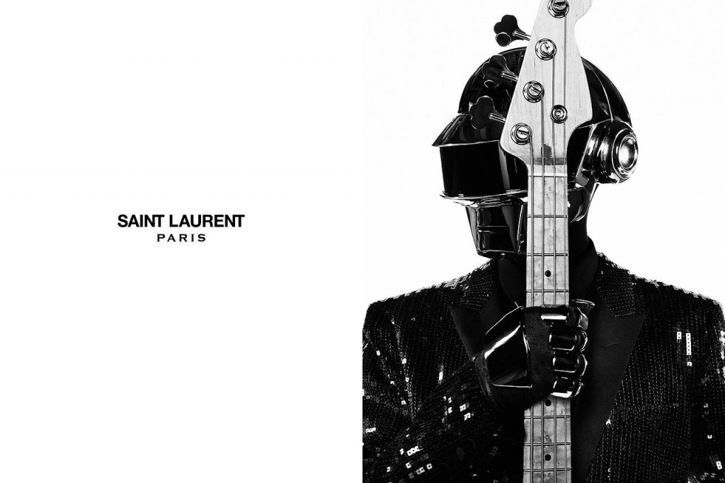 Photo DAFT PUNK FOR SAIN LAURENT MUSIC PROJECT