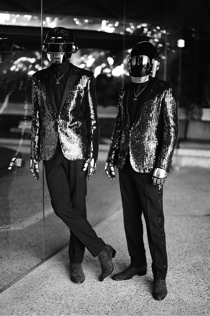 Photo DAFT PUNK IN SAINT LAURENT FOR CR FASHION BOOK