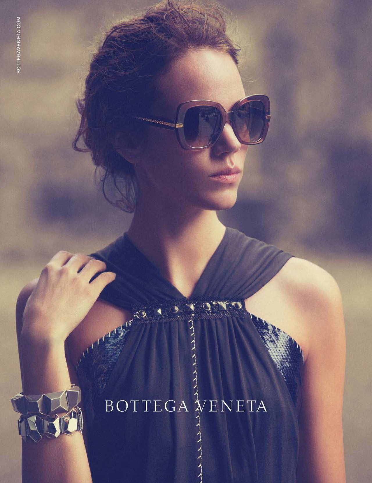 Photo Freja Beha Erichsen for Bottega Veneta Eyewear S/S 2013