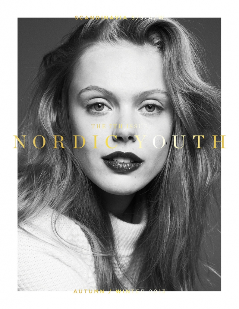 Photo FRIDA GUSTAVSSON BY ANDREAS OHLUND FOR SCANDINAVIA S/S/A/W MAGAZINES A/W 2013 COVERS