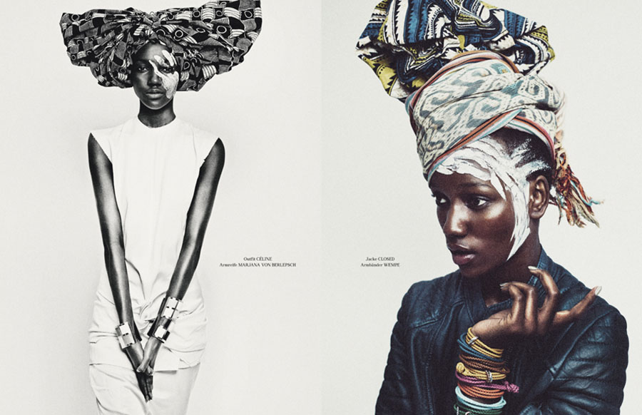 Photo HERIETH PAUL & JOSEFIEN RODERMANS BY BOE MARION FOR TUSH MAGAZINE SUMMER 2013