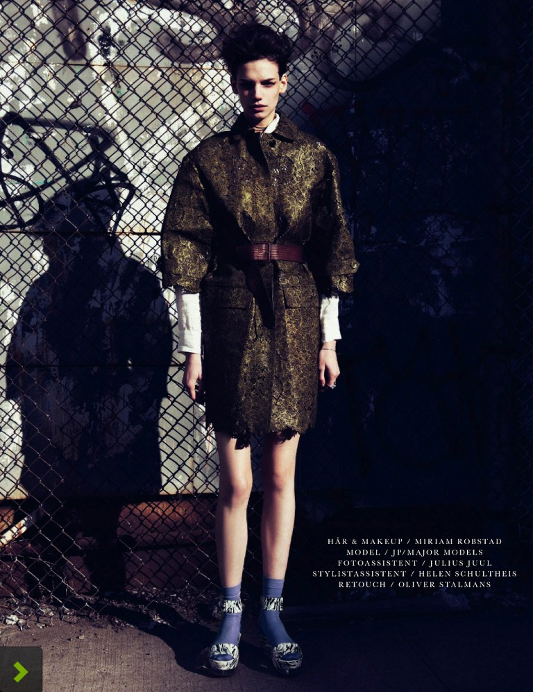 Photo JESSICA PITTI FOR ELLE DENMARK APRIL 2013