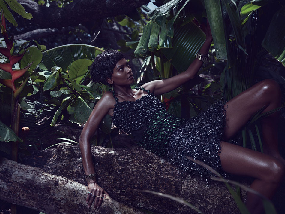 Photo JOAN SMALLS & LIYA KEBEDE BY MIKAEL JANSSON FOR W MAGAZINE JUNE/JULY 2013