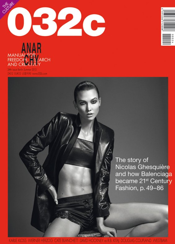 Photo 032C MAGAZINE SUMMER 2013 COVERS