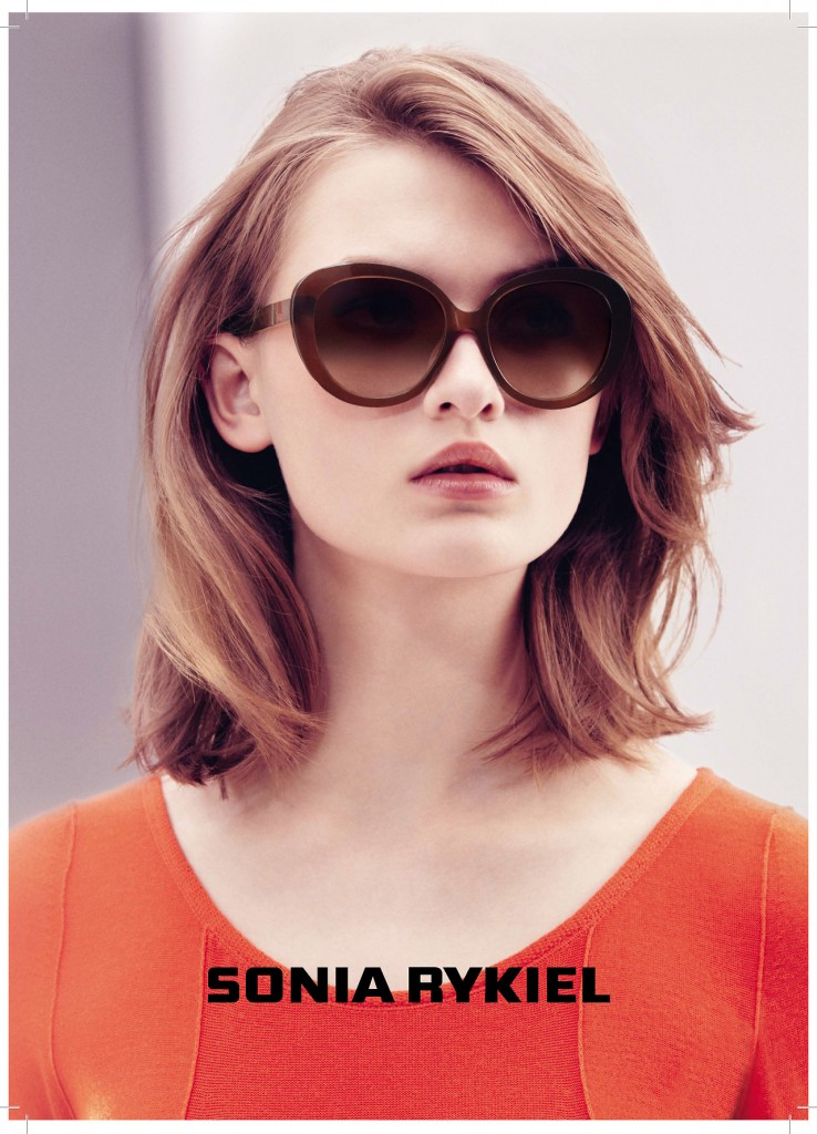 Photo LARA MULLEN BY CARLOTTA MANAIGO FOR SONIA RYKIEL EYEWEAR CAMPAIGN