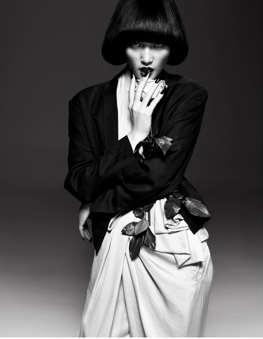 shepperson s april 2013 lina zhang for s bazaar china april 2013 the fashionography