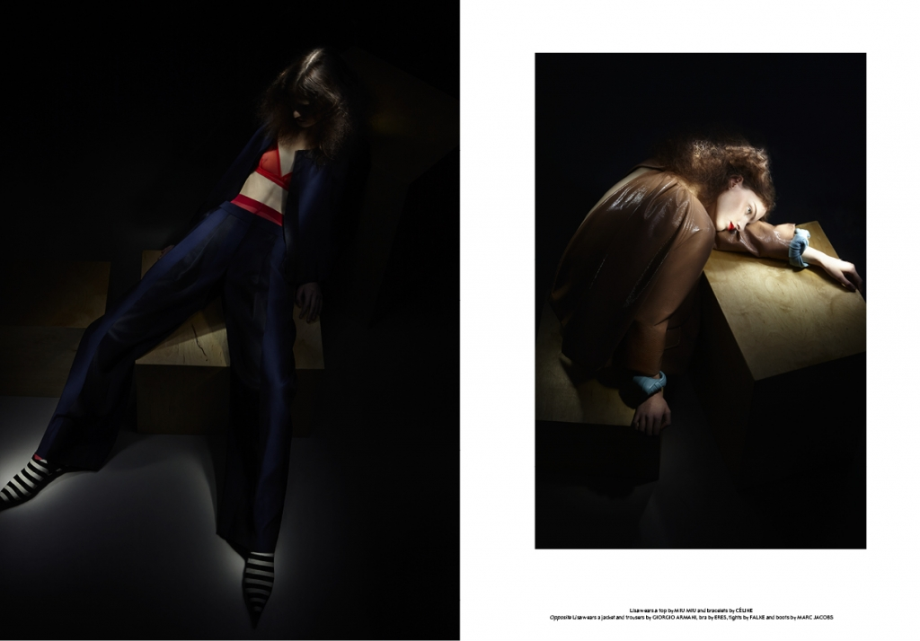 Photo LISA VERBERGHT FOR SSAW MAGAZINE S/S 2013 BY BLOMMERS & SCHUMM