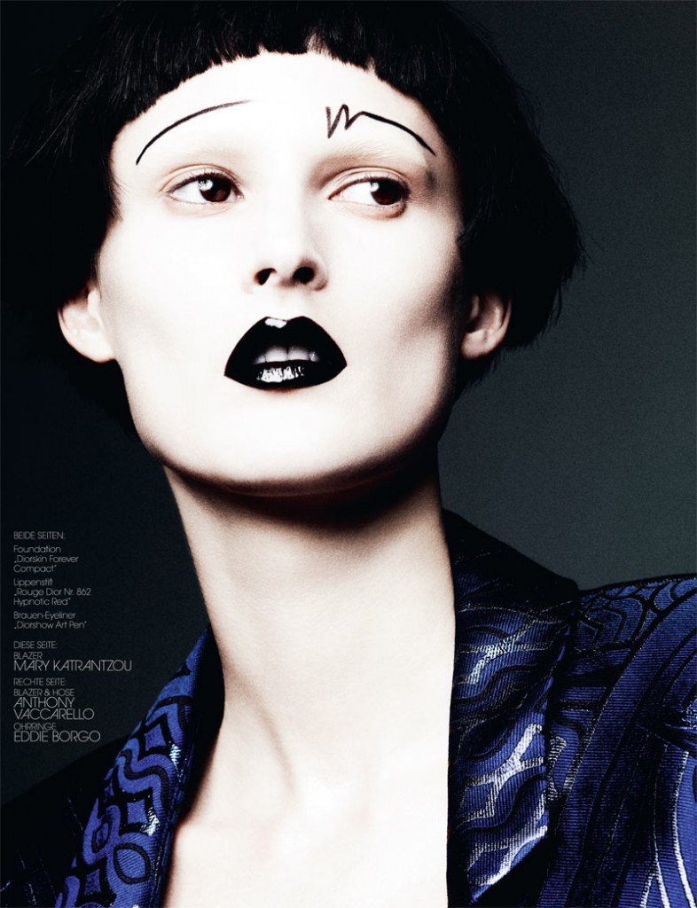 Photo MARIE PIOVESAN FOR INTERVIEW GERMANY MAY 2013