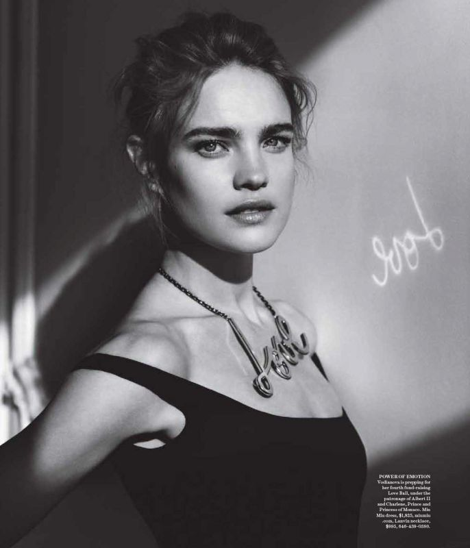 Photo NATALIA VODIANOVA BY ALASDAIR MCLELLAN FOR WSJ MAGAZINE JUNE 2013