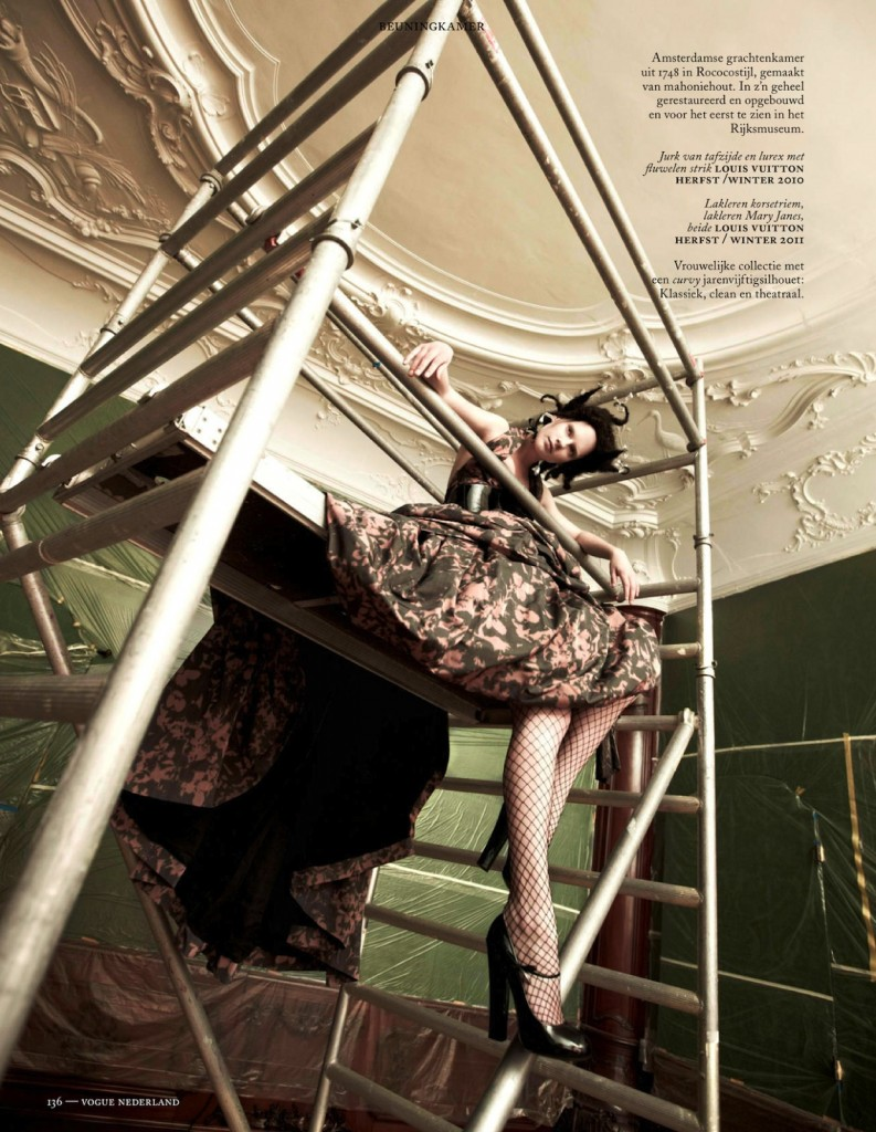 Photo QUERELLE JANSEN FOR VOGUE NETHERLANDS MAY 2013 BY ISHI