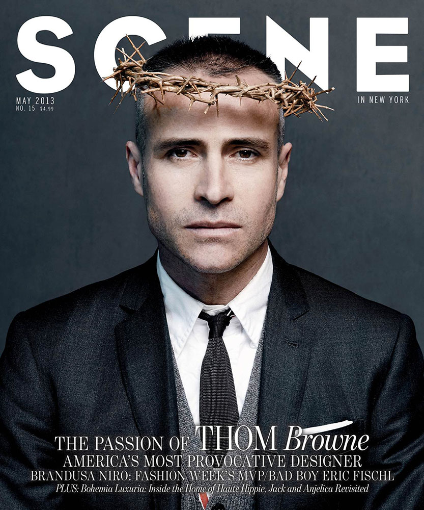 Photo THOM BROWNE FOR SCENE MAGAZINE MAY 2013 COVER