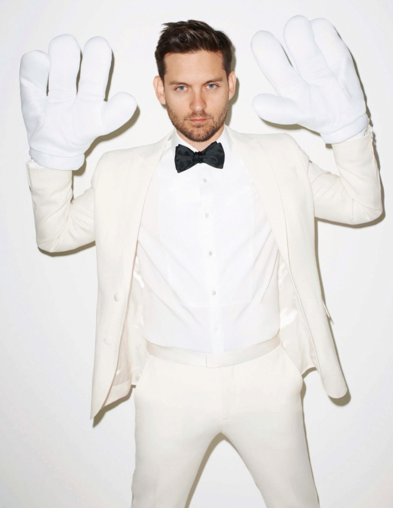 Photo TOBEY MAGUIRE BY TERRY RICHARDSON FOR INTERVIEW GERMANY JUNE 2013