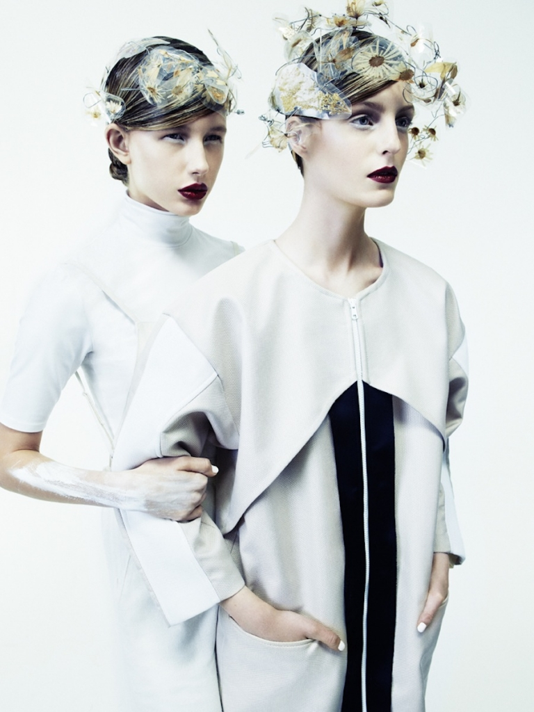 Photo VIKTORIA PERSSON, CLARA NERGARDH AND IRIS BY CEEN WAHREN FOR PULP MAGAZINE NO.7
