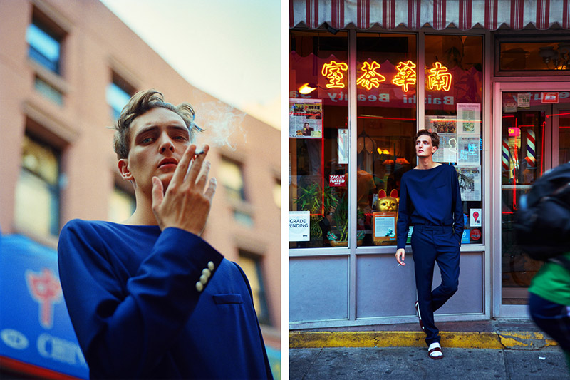 Photo YANNICK ABRATH BY MATTHEW KRISTALL FOR NEW YORK TIMES T STYLE MAGAZINE