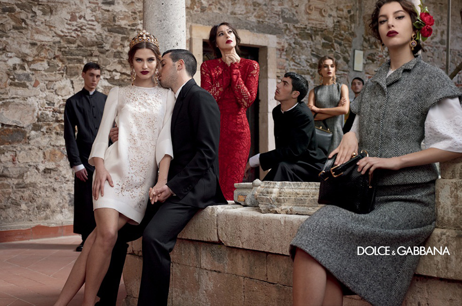 Photo Dolce & Gabbana Fall/Winter 2013/2014 Campaign