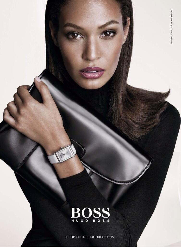 Photo Anja Rubik & Joan Smalls for Hugo Boss Fall/Winter 2013/2014