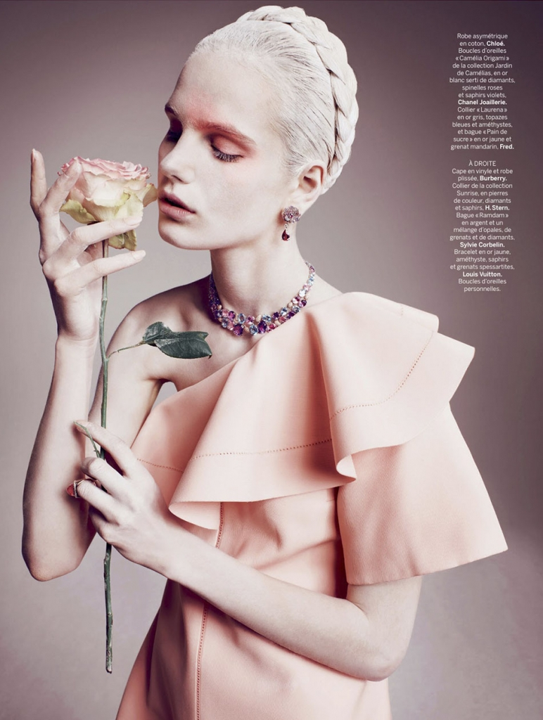 Photo ANMARI BOTHA BY MARCIN TYSZKA FOR STYLIST MAGAZINE FRANCE NO.7 MAY 2013