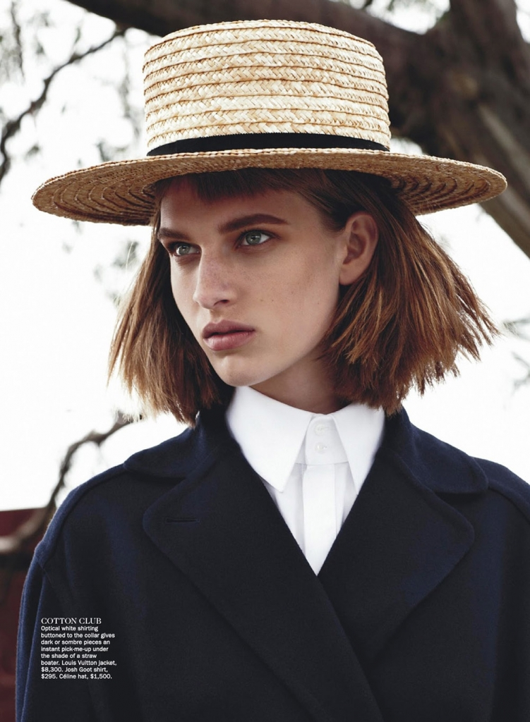Photo ASHLEIGH GOOD FOR VOGUE AUSTRALIA JULY 2013 BY NICOLE BENTLEY