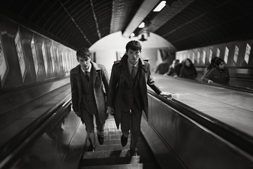 Photo Ben Allen & Jester White for Hardy Amies Fall/Winter 2013/2014 Campaign