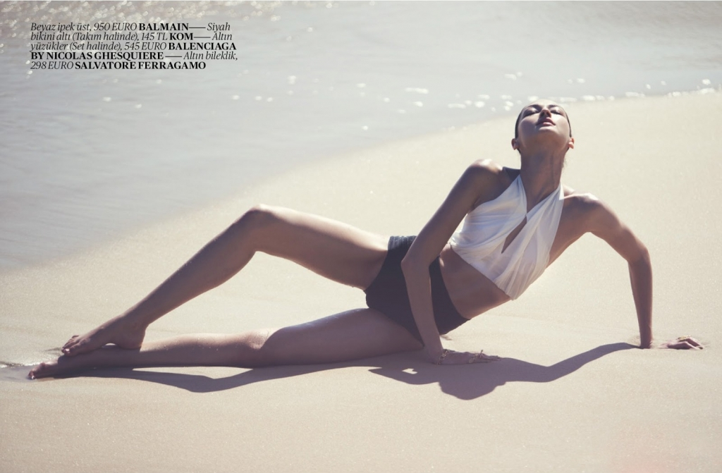 Photo BRUNA TENORIO BY DAVID BELLEMERE FOR VOGUE TURKEY JUNE 2013