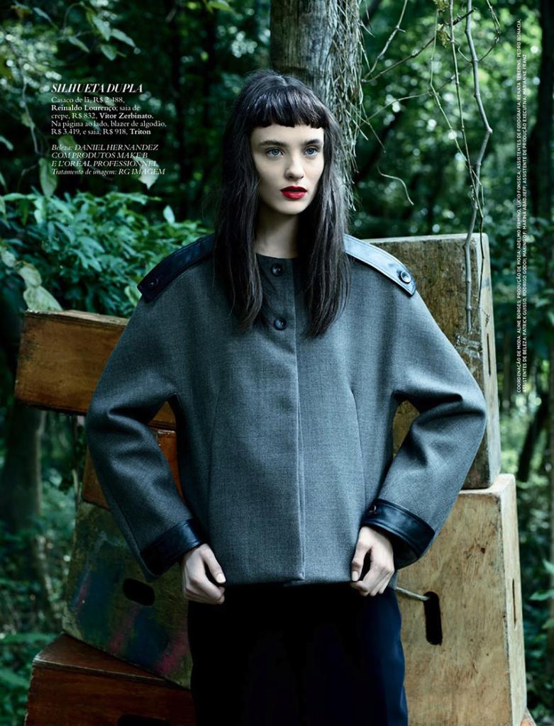 Photo Carolina Thaler by Bob Wolfenson for Harpers Bazaar Brazil July 2013