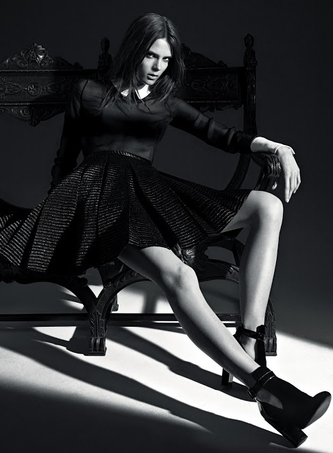 Photo Caroline Brasch Nielsen for Jill Stuart Fall/Winter 2013/2014 Campaign