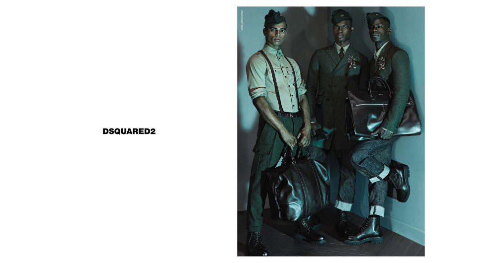 Photo DSquared2 Fall/Winter 2013/2014 Campaign by Mert & Marcus