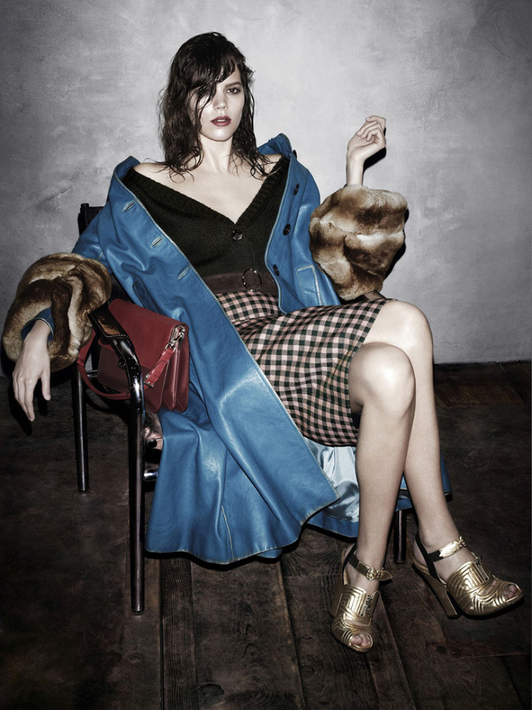 Photo Prada Fall/Winter 2013/2014 Campaign by Steven Meisel