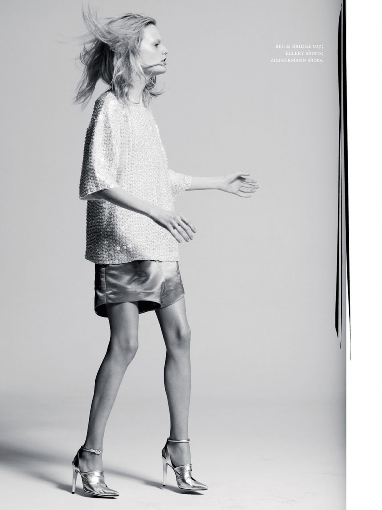 Photo HANNE GABY ODIELE BY DEREK HENDERSON FOR RUSSH MAGAZINE JUNE/JULY 2013