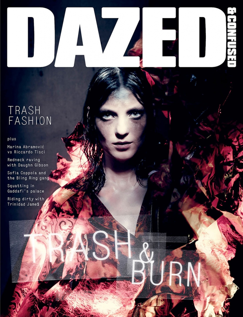 Photo KATI NESCHER BY PAOLO ROVERSI FOR DAZED & CONFUSED JULY 2013 COVER