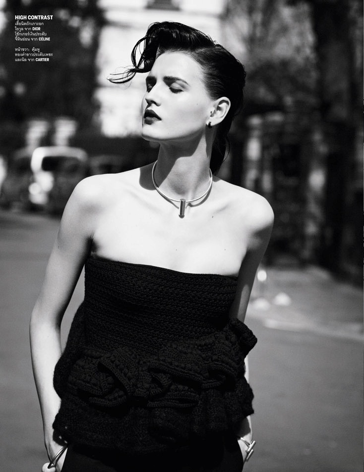 Photo Katlin Aas by Ward Ivan Rafik for Vogue Thailand July 2013
