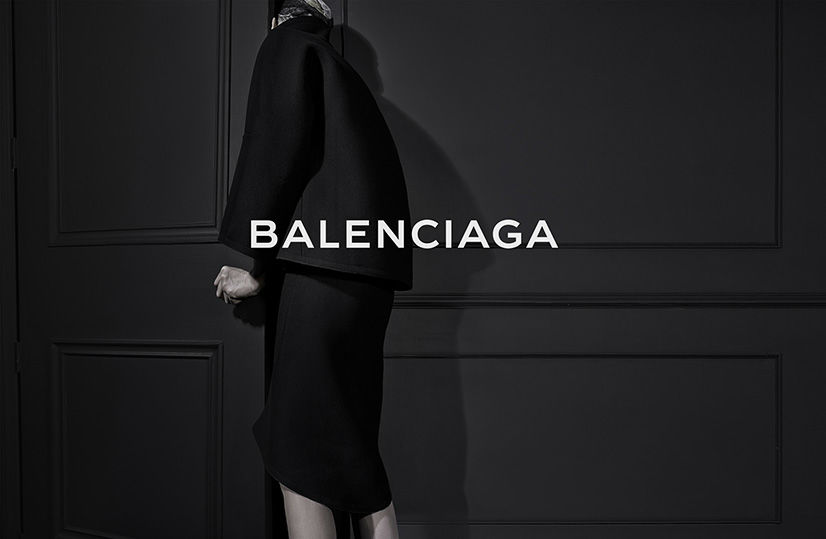 Photo KRISTEN MCMENAMY FOR BALENCIAGA FALL/WINTER 2013/2014 CAMPAIGN BY STEVEN KLEIN