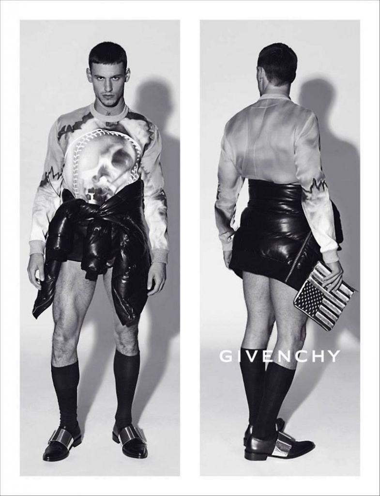 Photo QUIM GUTIERREZ & MARIANO ONTANON FOR GIVENCHY FALL/WINTER 2013/2014 MENS AD CAMPAIGN