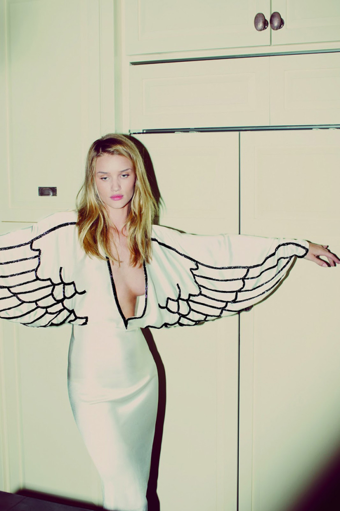 Photo Rosie Huntington Whiteley by Guy Aroch for Muse Magazine Summer 2013