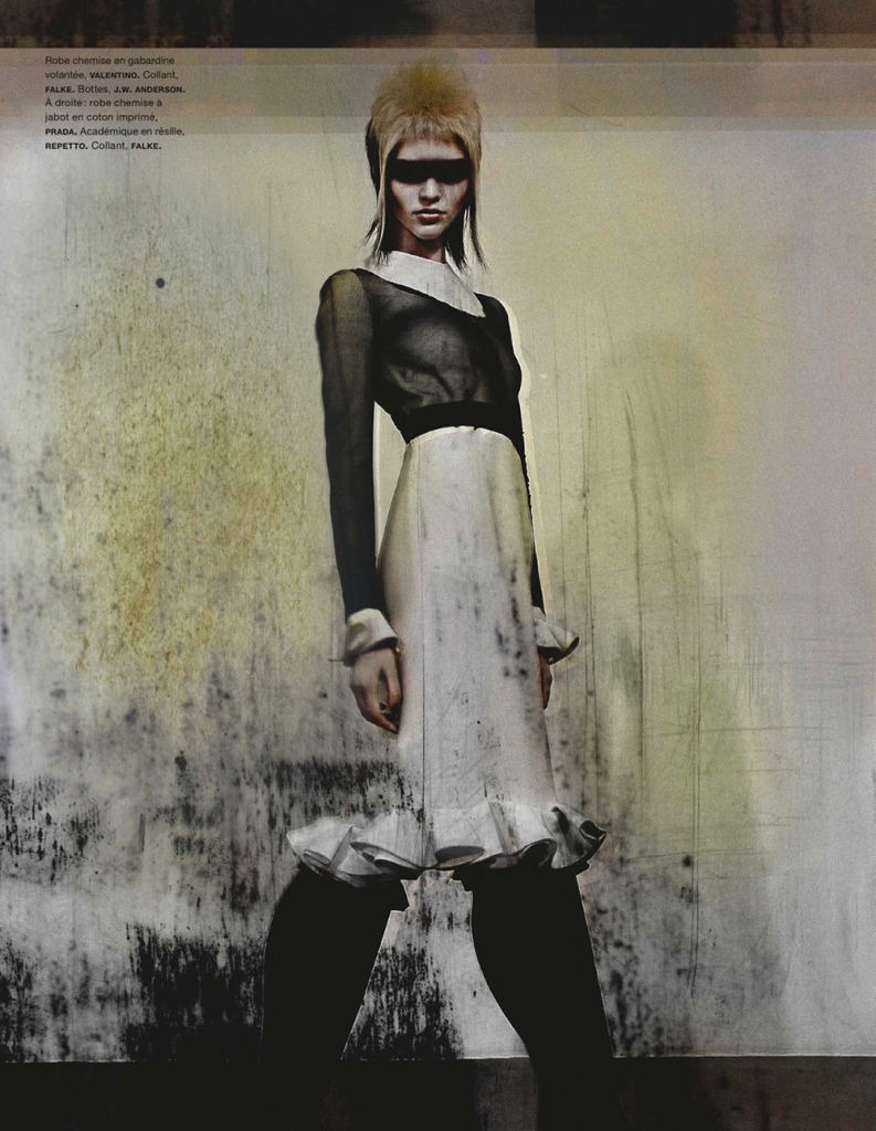 Photo SASHA LUSS BY ANTHONY MAULE FOR NUMERO MAGAZINE JUNE/JULY 2013