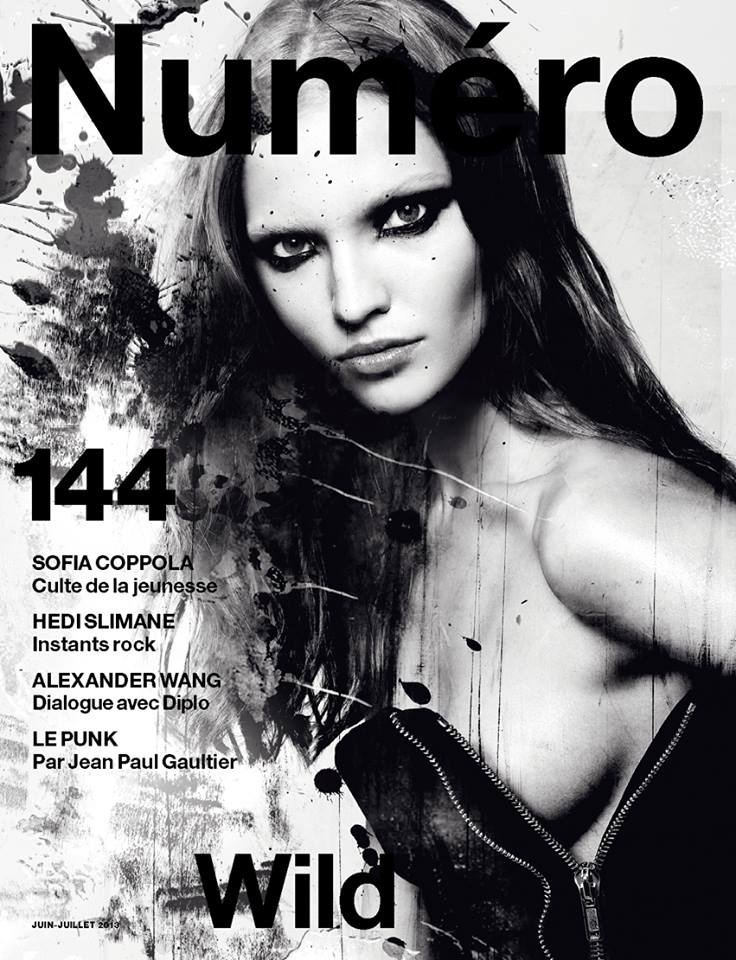 Photo SASHA LUSS FOR NUMERO NO.144 JUNE/JULY 2013 COVER