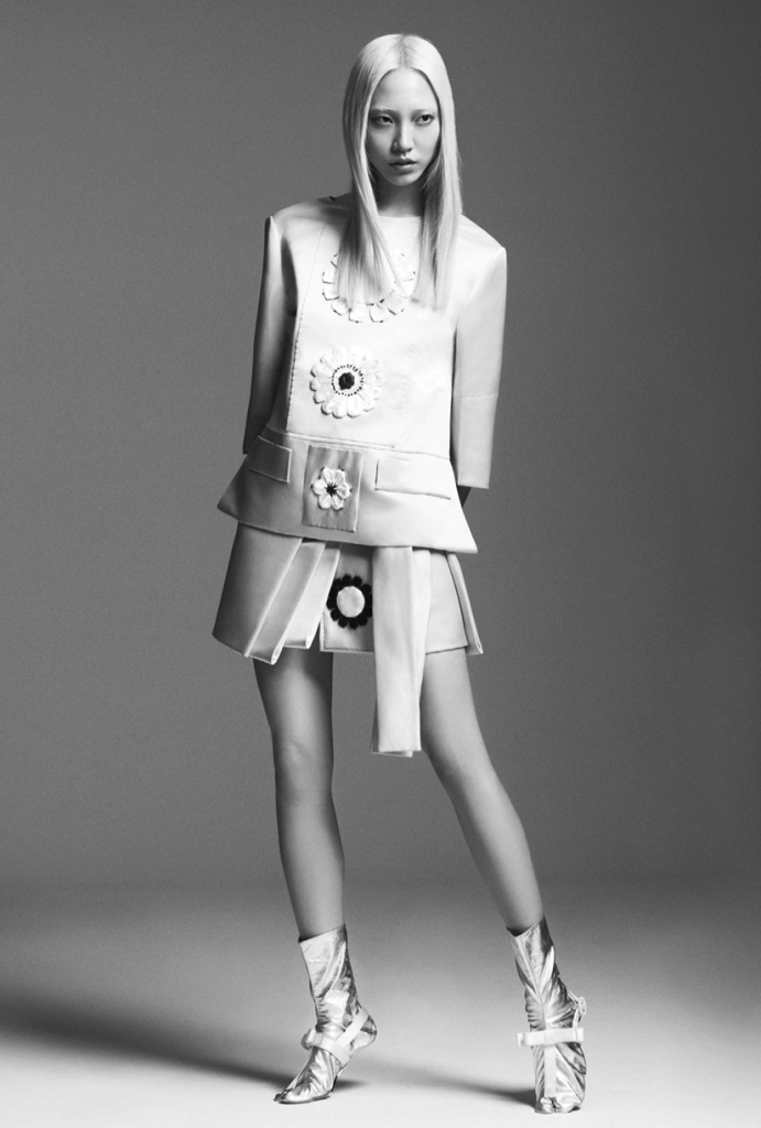 Photo Soo Joo Park by Dario Catellani for Lurve Magazine No.7