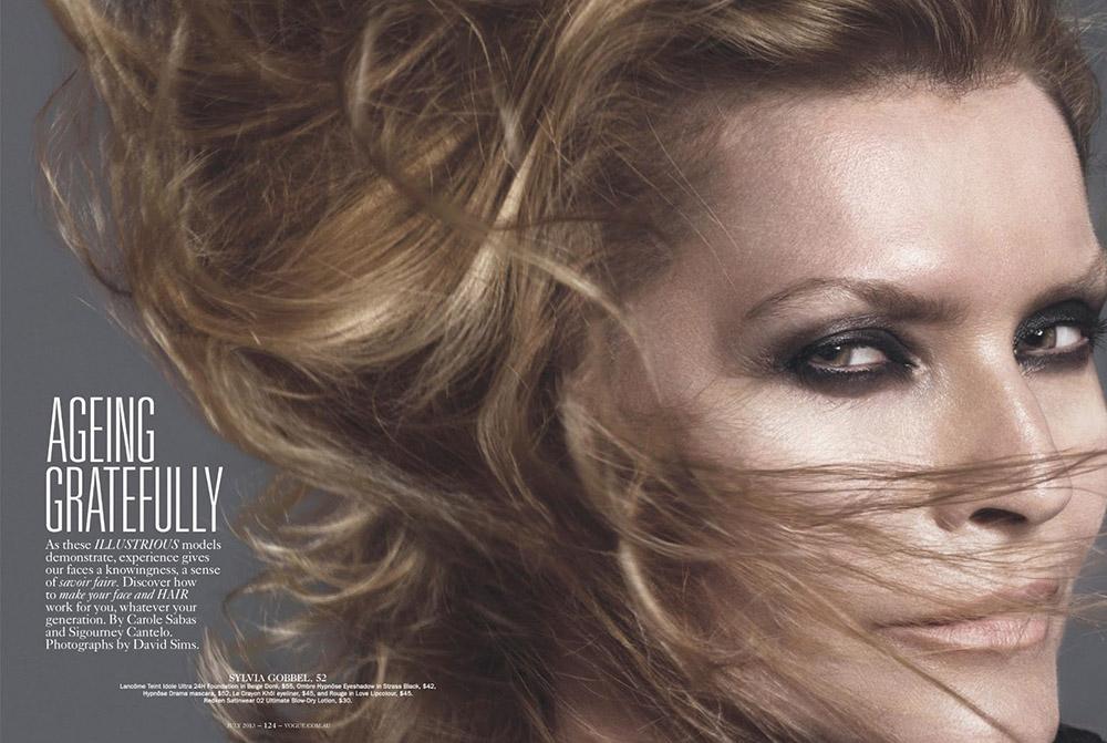 Photo Sylvia Gobel, Eva Hezigova, Crista Cober, Yasmin Le Bon for Vogue Australia July 2013 by David Sims