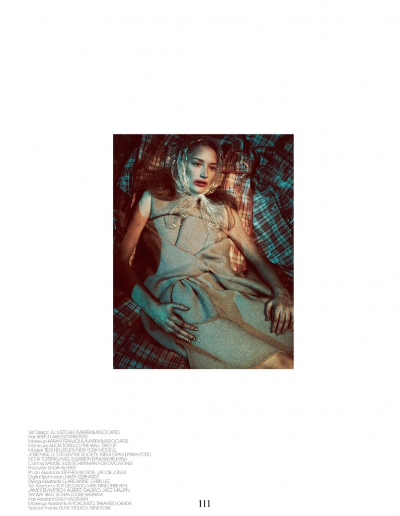 Photo Tess Hellfeuer, Kremi Otashliyska, Nouk Torsing, Elisabeth Erm & Josephine Le Tutour for Interview Germany July 2013