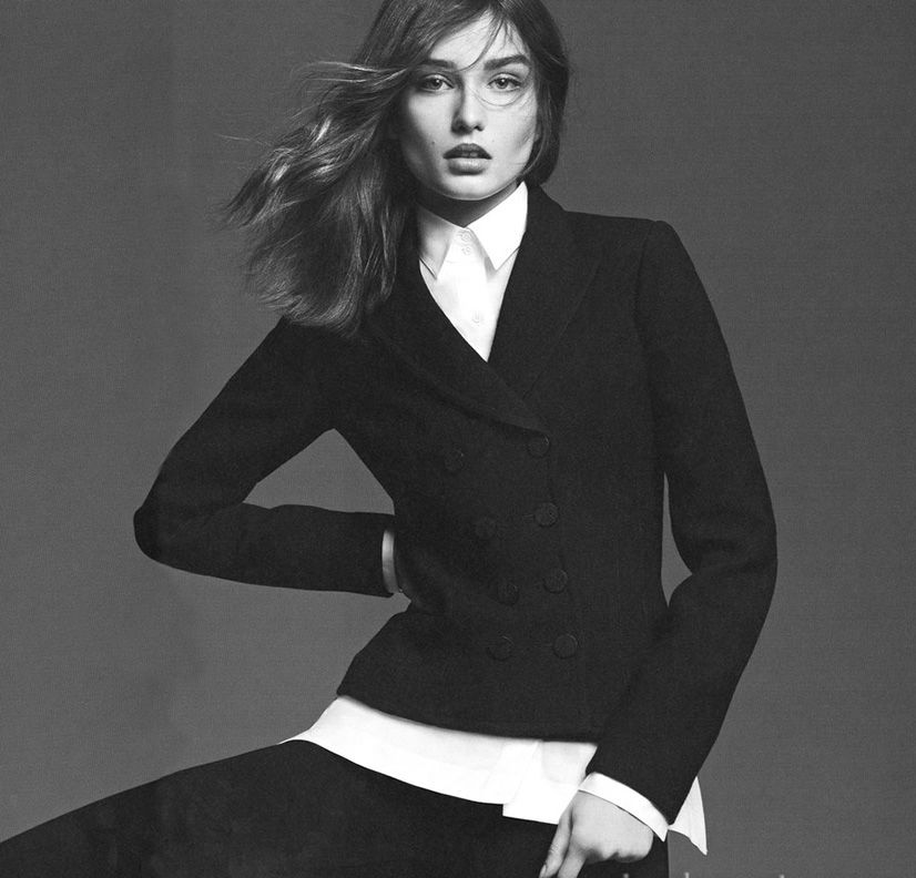 Photo Andreea Diaconu for System Magazine Issue 1 by Karim Sadli