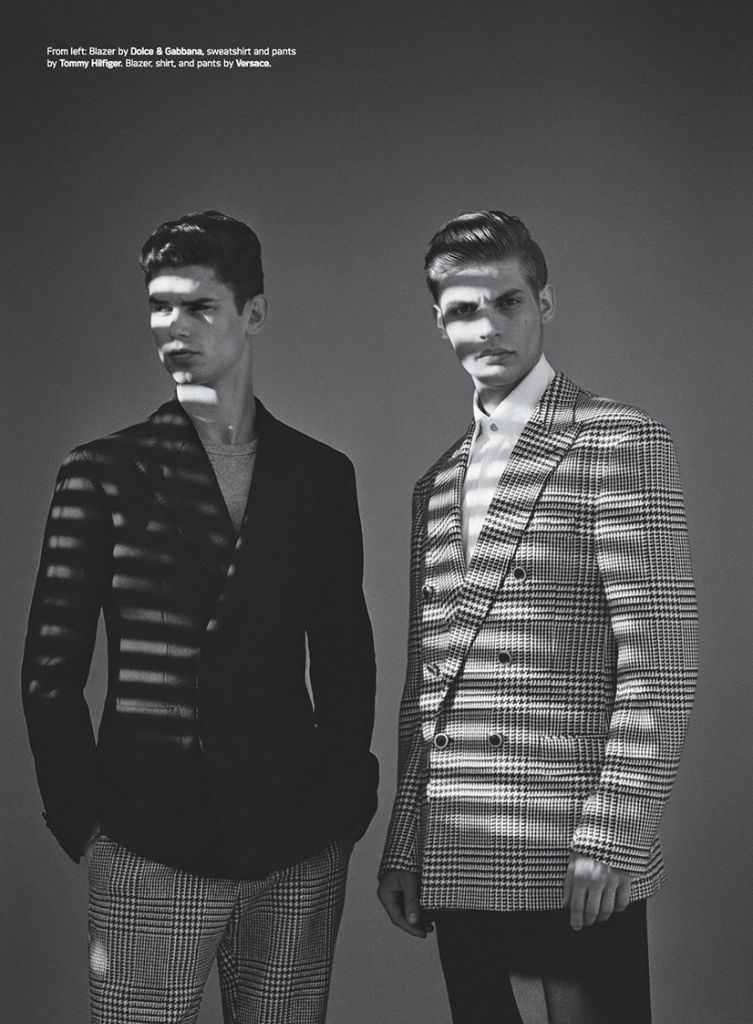 Photo Benjamin Eidem, Baptiste Radufe, Arthur Gosse & Paris Nicholson for Details Magazine August 2013